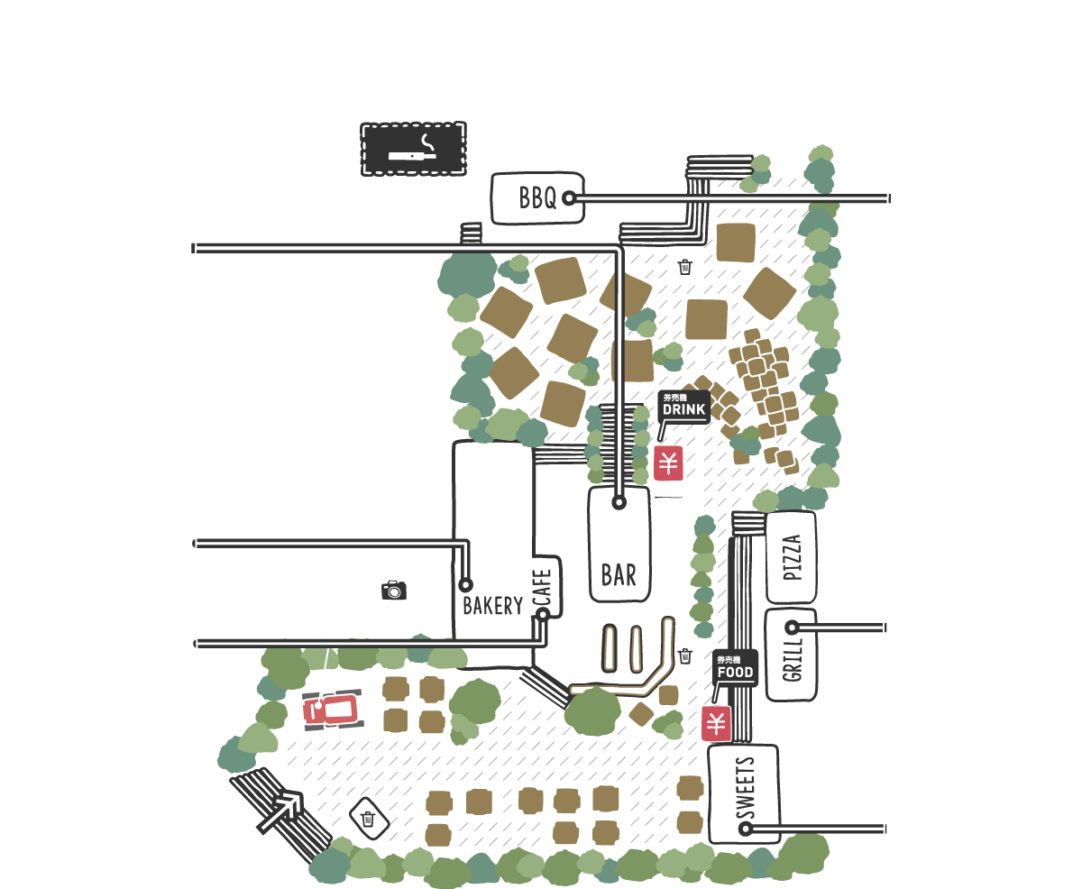 THE FARM TOKYOのマップ